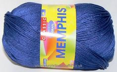 This is such a lovely soft silky cotton from Adriafil made in Italy and is 100 pure Egyptian cotton It is a DK double knitting weight and has a Yarn Brands, Egyptian Cotton, Double Knitting, Needles Sizes, Deep Blue, Memphis, Pure Products, Wool, Crochet