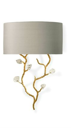 Designer Wall Sconce, in Gold & Crystal, sharing luxury designer home decor     inspirations and ideas for beautiful living rooms, dinning rooms, bedrooms & bathrooms inc     furniture, chandeliers, table lamps, mirrors, art, vases, trays, pillows, accessories & gift     courtesy of InStyle Decor Beverly Hills enjoy & happy pinning