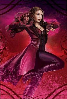 New Captain America: Civil War Scarlet Witch Art - Cosmic Book News