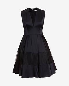 Alexis Sleeveless Silk Flare Dress #INTERMIX #SWEEPSTAKES