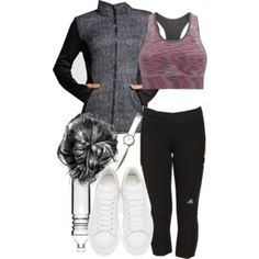 Alaric inspired workout outfit