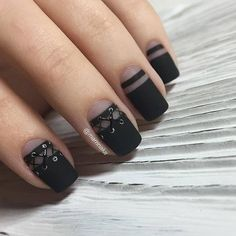 Are they sexy enough? <3 #sexy #lace #nails #manicure
