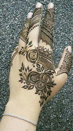 Wedding Henna Designs, Modern Henna Designs, Latest Henna Designs, Henna Tattoo Designs Simple, Arabic Henna Designs, Mehndi Design Pictures, Modern Mehndi Designs, Beautiful Henna Designs, Dulhan Mehndi Designs