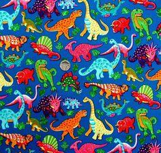 Blue dinosaur fabric #lovemyteepee
