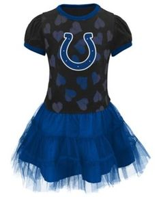 Outerstuff Toddler Girls' Indianapolis Colts Love to Dance Tutu Dress - RoyalBlue 2T