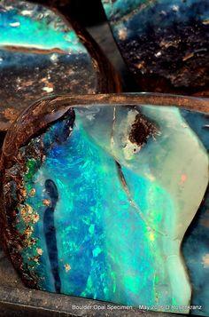 polished Boulder Opal Specimen  [ May 2016]