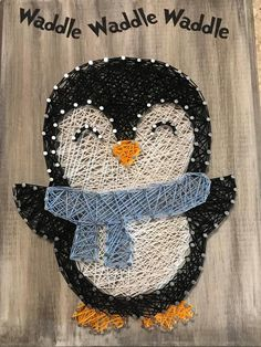 ideas for custom wood signs string art String Wall Art, Nail String Art, String Crafts, Cute Crafts, Yarn Crafts, Crafts To Do, String Art Patterns, Thread Art, Pin Art