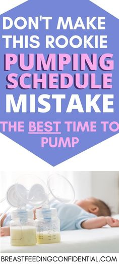 A helpful breastfeeding tip is to increase milk supply by pumping. A lactation consultant shares the most effective methods of pumping to increase milk supply. Pumping And Breastfeeding Schedule, Pumping Schedule, Stopping Breastfeeding, Breastfeeding Positions, Breastfeeding Problems, Breastfeed And Pump Schedule, Breastfeeding Storage, Breastfeeding Benefits, Exclusively Pumping