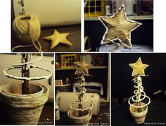 Finding Secret Treasure: How to make a Bed Spring Christmas Tree Posted Nov. 5, 2012