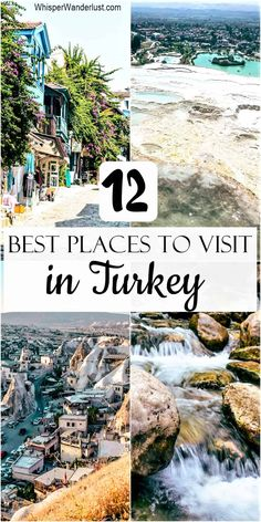 most beautiful places to visit in Turkey | what to visit in Turkey | Turkey best locations | best things to do in turkey | 12 best places in turkey | turkey travel guide | must-see in turkey | turkey itinerary | turkey travel guide Road Trip Europe, Europe Travel Tips, Travel Goals, Budget Travel, Travel Guide, Most Beautiful Beaches, Beautiful Places To Visit, Cool Places To Visit, Africa Destinations