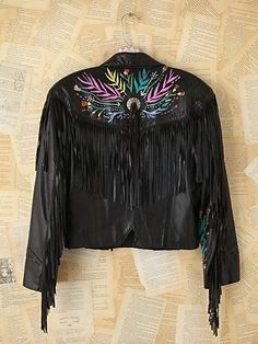 Vintage Lizzy Janssen Hand-Painted Leather Jacket. http://www.freepeople.com/vintage-loves-brushed-beauties/vintage-lizzy-janssen-hand-painted-leather-jacket-26722702/