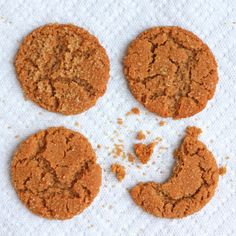 Flour-less Peanut Butter Cookies