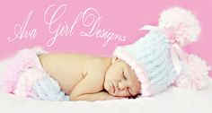 Ava Girl Designs features unique heirloom quality baby items from that perfect knitted baby hat to adorable personalized onesies and one of a kind wood baby hangers.  All items are handmade just for you with much care to detail and the best quality materials.    www.avagirldesigns.com