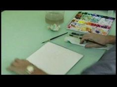 Watercolor Painting: A Lighthouse : Watercolor Painting a Lighthouse: Sky - YouTube