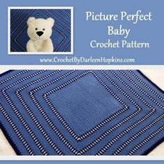 Picture Perfect Crochet Baby Blanket  | Craftsy