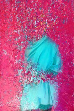 "Saatchi Art Artist: Fabian Forban; Color 2015 Photography ""Turquoise Toga"""