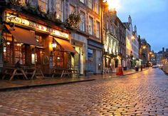 The Grassmarket is a historic market place and an event space in the Old Town of Edinburgh, Scotland.