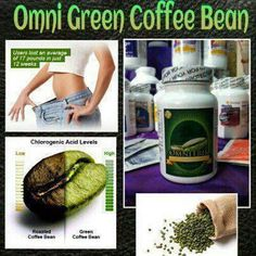 Omnitrition Green coffee bean extract I have been taking it for 1 week and lost 4.5 pounds   www.omnitrition.com/bertnmari