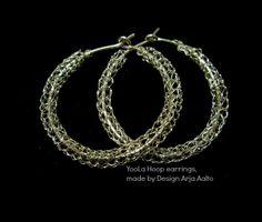 YooLa Hoop earrings. Sterling Silver Hoop Earrings, Sterling Silver, Bracelets, Jewelry, Design, Jewlery, Bijoux, Schmuck, Jewerly