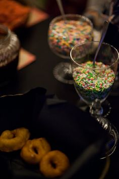 #Celebrations #DurangoColorado Wedding Planner, #bicycle_wedding #mountain_wedding #bright_colors #doughnut #buffet  Hailey King Photography www.theeventpro.com