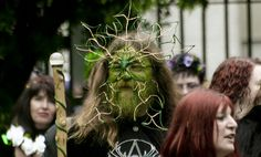 Beltane bash in Russell Square, London