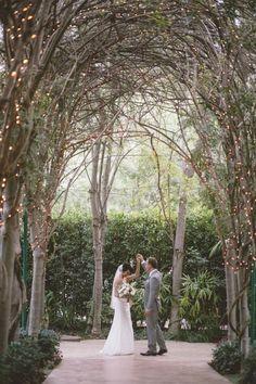 Joanna and Nevin's Wedding at Hartley Botanica by Anna Delores Photography - via Grey likes weddings