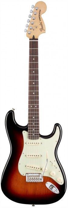 Fender Deluxe Roadhouse Stratocaster - 3 Tone Sunburst / Rosewood   GigGear