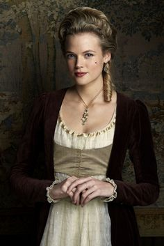 Gabriella Wilde as Caroline Penvenen in #Poldark - Season 2