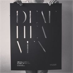 @deafheavenband lasercut poster for @fondenvoxhall show 2014 / Aarhus - Denmark // Only 40 made #trowback #deafheaven #posterart #lasercut #lasercutting #noheroes #jongotlev #noheroesdk #voxhall #fondenvoxhall #graphicdesign #seethrough #minimalism #limitededition #sargenthouse by noheroes.dk