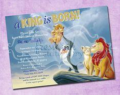 Lion king simba baby shower invitations safari animals jungle lion king baby shower invitation jungle invitation disney filmwisefo