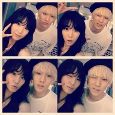 #Tiffany #Key #SNSD #SHINee