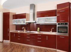 Contemporary Kitchen Lacquered High Gloss Airone Torchetti Cucine ...