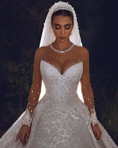One word for this wedding gown Cute Wedding Dress, Wedding Dress Trends, Princess Wedding Dresses, Dream Wedding Dresses, Wedding Gowns, Bouquet Wedding, Wedding Nails, Perfect Wedding, Princess Bridal