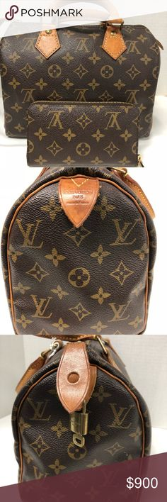Shop Women s Louis Vuitton size Small Satchels at a discounted price at  Poshmark. Description  Pre- owned authentic vintage speed 25 comes with the  inserts ... 4fbabb8486e71