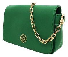 Tory Burch Robinson Mini Chain Strap Shoulder Bag