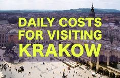 City Price Guide: Krakow — How Much It Costs To Visit Krakow, Poland. Have A Great Vacation, Great Vacations, Europe On A Budget, Europe Travel Tips, Visit Krakow, Bad Hotel, Visit Poland, Poland Travel, Krakow Poland