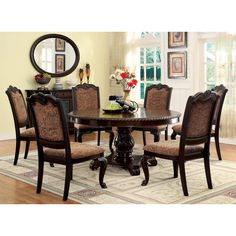 Hooker Furniture Rhapsody Round Dining Table Set Designer - 60 inch round dining room table sets