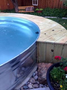 A pool in your backyard will do wonders on this. Here are s number of ideas for DIY galvanized stock tank pool Pool Pool, Swimming Pool Water, Diy Pool, Swimming Pool Designs, Stock Pools, Stock Tank Pool, Piscina Diy, Galvanized Stock Tank, Homemade Pools