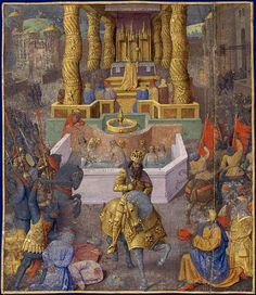 The taking of Jerusalem by Herod the Great, 36 BC  By Jean Fouquet.  Art Experience NYC  www.artexperiencenyc.com/social_login/?utm_source=pinterest_medium=pins_content=pinterest_pins_campaign=pinterest_initial