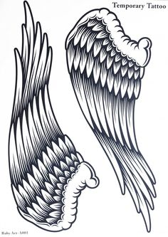 Spestyle new design hot selling fashionable large Angel wings temporary tattoo sticker for women ** Be sure to check out this awesome product.