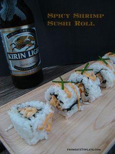 Spicy Shrimp Sushi Rolls