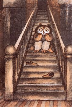 Owl at Home - written & illustrated by Arnold Lobel (1975)