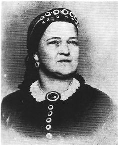 Photo of Mary Todd Lincoln probably taken in 1864 by Wenderoth and Taylor