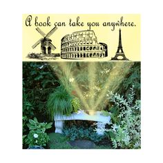 """"""" Book to famous places in garden. Famous Places, Unique Gifts, Tower, Canning, Books, Garden, Travel, Clothes, Original Gifts"""