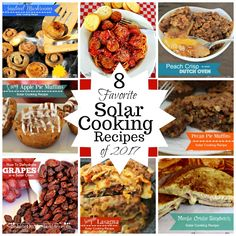 8 Favorite Solar Cooking Recipes from 2017 to remember and enjoy, including muffins, main dishes, vegetables, and dessert Oven Recipes, Cooking Recipes, Healthy Recipes, Apple Pie Muffins, Dishes To Go, Main Dishes, Monte Cristo Sandwich, Solar Cooker, Solar Oven
