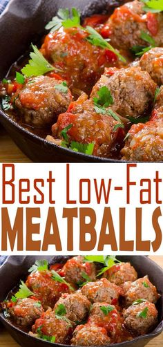 Try our best Low Fat Meatballs Recipe for dinner tonight. You'll find a full of flavor meatball that is made with meat that is lower in fat and healthier for you. Feel good about what you're eating.