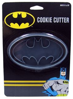 Awesome Batman Logo Cookie Cutter. Read our 5 top favourite Batman games here http://blog.playfire.com/2015/04/top-five-best-star-wars-games.html