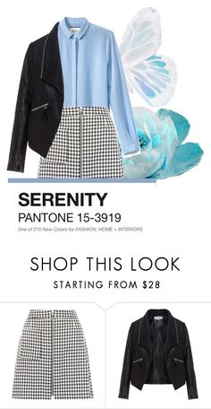"""""""serenity"""" by jaeshyun ❤ liked on Polyvore featuring New Look and Zizzi"""