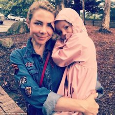 Kate Ritchie shares adorable snap of her and Mae Instagram Snap, One Drop, Look Alike, Love Of My Life, Cuddling, My Girl, Rain Jacket, Windbreaker, Raincoat
