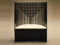 Charles Rennie Mackintosh Willow Chair, ca. 1903. @Deidré Wallace
